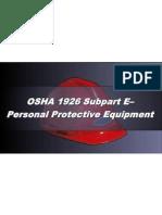 OSHA 10 Slides 09 - Personal Protective Equipment