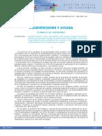 Subvenciones y Ayudas Gobierno Cantabria