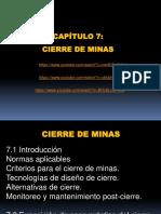 7 Cap. 07 - Cierre de Minas 2016