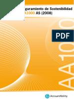 Certificación AA1000 para la RSE