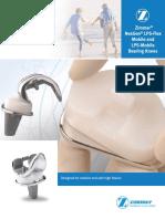 Zimmer Nexgen Lps Flex Mobile and Lsp Mobile Bearing Knees Brochure