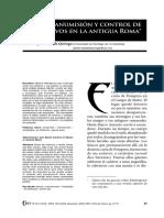 LÓPEZ BARJA de QUIROGA_ Pedro (2012) Manumisión y Control de Esclavos en La Antigua Roma