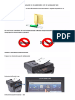 Uso y Configuración de Escanear a Carpeta de Red