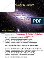Cosmology & Culture