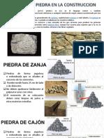 Tecnología de Los Materiales(tipos de piedra)