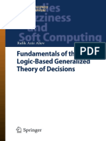 Fundamental of Fuzzy Logic-Based Generalized Theory of Decisions