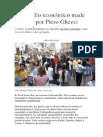 Desarrollo Económico Made in Perú