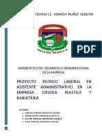 Entregable 2 Desarrollo Organizacional de La Empresa Grado 11
