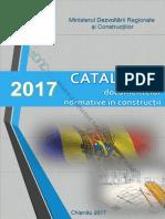 Catalogul Documentelor Normative in Constructii 2017 Editia II