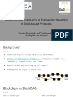 Incentives and Trade-offs in Transaction Selection in DAG-based Protocols