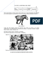 Épocas de La Historia Del Perú