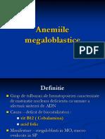 Anemiile megaloblastice