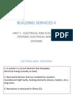 Building Services II-unit1