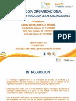 psicologia organizacional unidad 1 unad