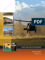 Draft Fort Drum Joint Land Use report