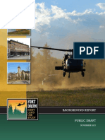 Draft Fort Drum Joint Land Use Study background report