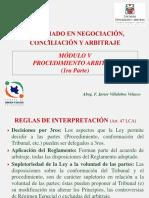 01 Procedimiento Arbitral (1ra Parte)