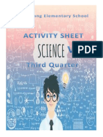 Activity Sheet in Science q3