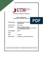 Final Exam SMJC 3333
