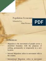 Population Economics