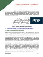 Cap VII Flexión y Compresión