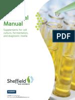 Technical Manual - Sheffield Bioscience