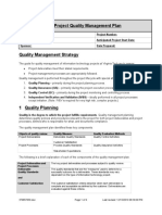 It Pm Quality Mgmt Plan