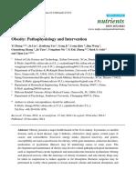 Obesity- Pathophysiology and Intervention
