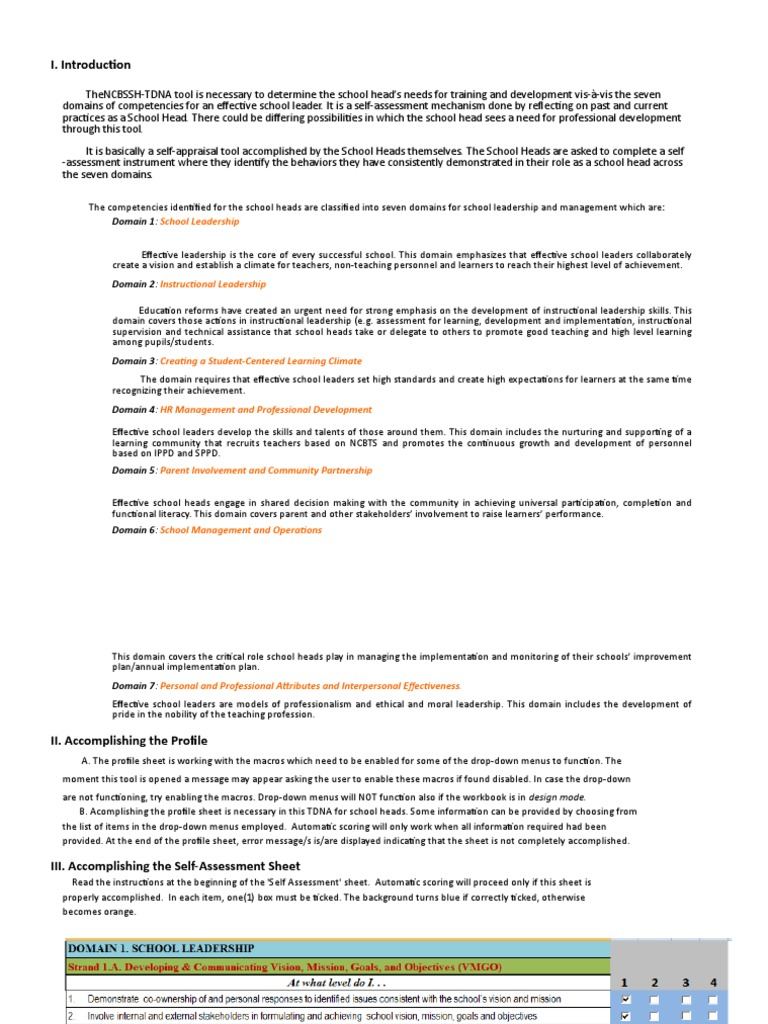 Ncbssh Tdnae Versionantique 1xls Curriculum Leadership