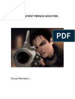 3d FPS Synopsis