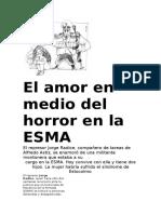 El Amor en Medio Del Horror en La ESMA