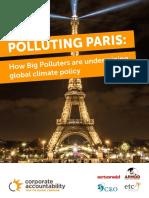 Polluting Paris