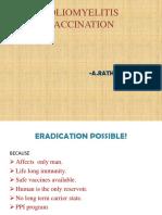 Poliomyelitis Vaccination-rathi Priya