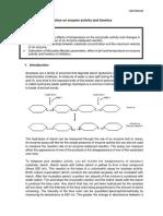 Lab 8 Enzyme Kinetics