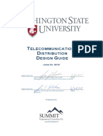 WSU Telecom Design Guide