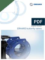 Erhard butterfly valve
