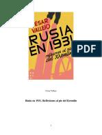 Rusia en 1931 Reflexiones Al Pie Del Kremlin Cesar Vallejo