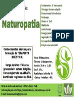 Cartaz Naturopatia3