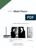 Muito Prazer - Caderno de Exercícios - Unidades 01 a 05