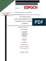 Informe Unidad de Mantenimiento (Electroneumática)