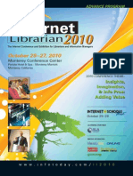 Internet Librarian 2010 Advanced Program