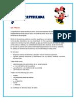 Parcelador Español 5º