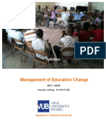 Syllabus_Management of Education Change 2017-2018