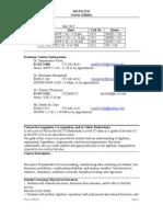 UT Dallas Syllabus for math2312.003.10f taught by Manjula Foley (mxf091000)