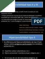 Hipersensibilidad 2 y 3