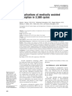 Complications of Medically Assisted