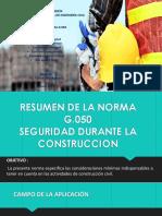 Diapositivas Del Resumen Norma G-050