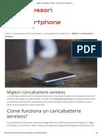 Migliori caricabatterie wireless - Accessori Per Smartphone.pdf