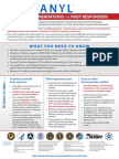 Fentanyl Safety Recommendations for First Responders
