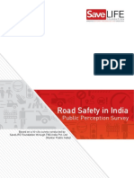 Road Safety in India Public Perception Survey SLF